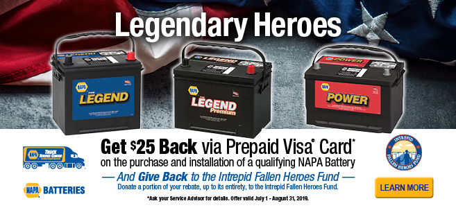 Receive up to a $25 Prepaid Visa® with qualifying purchase